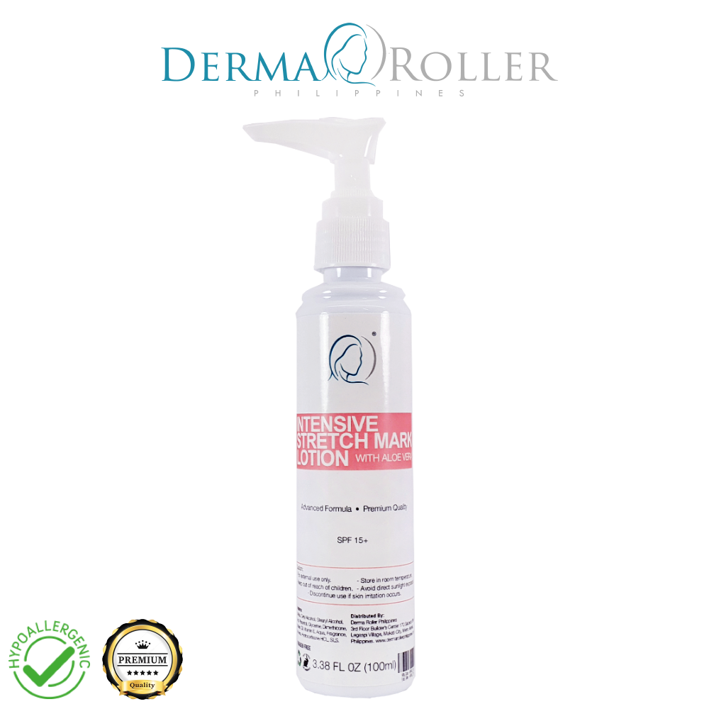 Intensive Stretch Mark Lotion 100ml Derma Roller Philippines